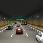 Interiér tunelu Libeňské spojky (© 2010 SATRA & ARTOO)