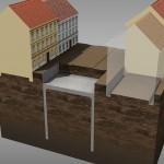 3. fáze výstavby – zásyp stropu a obnova inženýrských sítí (© 2010 SATRA & ARTOO)