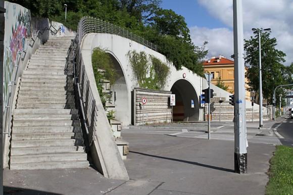 Tunel Mrázovka - jihovýchodní portál